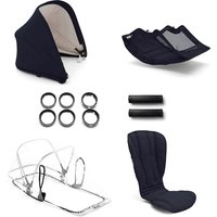 Bugaboo Bee 5 style set compleet Bugaboo classic collectie donkerblauw